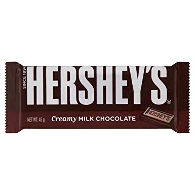 Hershey's bar 45g - Creamy milk chocolate