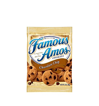 Famous Amos Chocolate Chip Cookies 56g