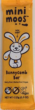Mini Moos - Bunnycomb Bar Dairy Free 25g