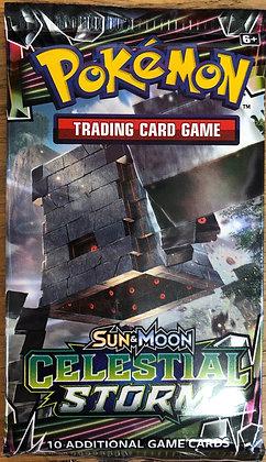 Pokemon Trading Cards Sun & Moon Celestial Storm