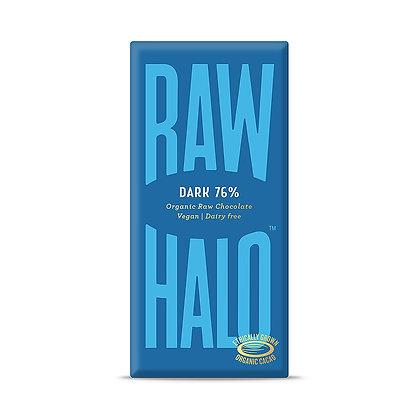 Raw Halo Dark 76% Chocolate (Vegan) 70g
