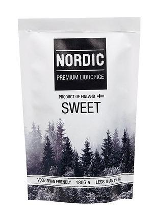 Nordic Premium Liquorice - Sweet 180g