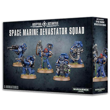 Warhammer 40K Adeptus Astartes Space Marine Devastator Squad