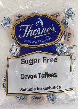 Thorne's Sugar Free - Devon Toffees 100g