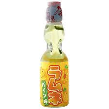 Ramune HATA-KOSEN - Pineapple Flavoured Lemonade 200ml