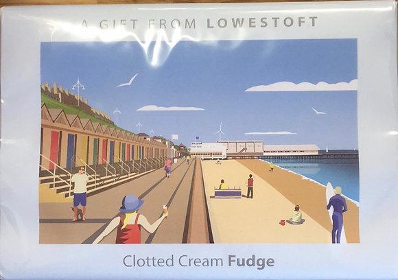 Beaches & Cream Lowestoft - Clotted Cream Fudge 170g