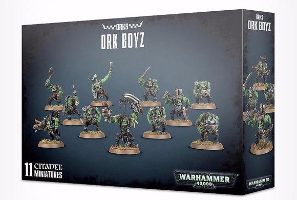Warhammer 40K Orks Ork Boyz