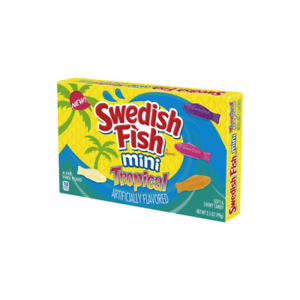 Swedish Fish Mini Tropical 99g
