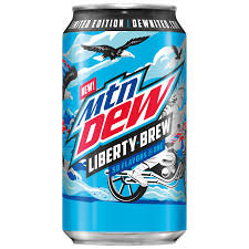 Mtn Dew Liberty Brew LIMITED EDITION PAST DATE