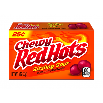 Red Hots - Chewy Sizzling Sour 23g