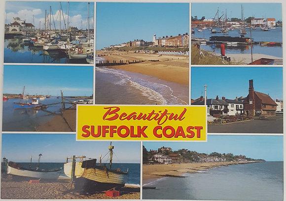 """Beautiful Suffolk Coast"" Postcard"