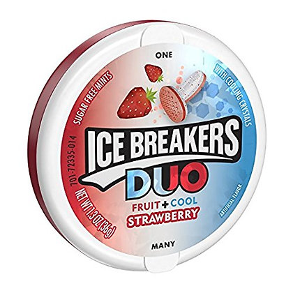 Ice Breakers - Duo Strawberry 36g