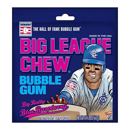 Big League Chew Bubble Gum Big Rally Blue Raspberry 60g