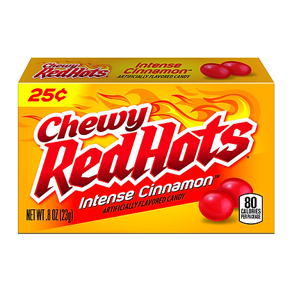 Red Hots - Chewy Intense Cinnamon 23g