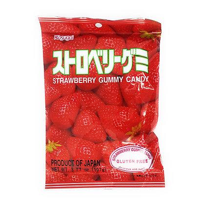 KASUGAI SEIKA - Gummy Candy Strawberry Flavour 113g