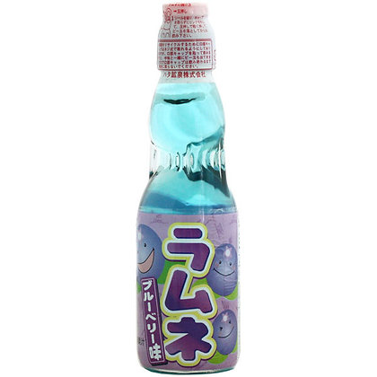 Ramune HATA-KOSEN - Blueberry Flavoured Lemonade 200ml