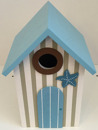 Large Beach Hut Ornament (Starfish)
