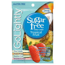 Go Lightly - Sugar Free Tropical Fruit Hard Candy 78g