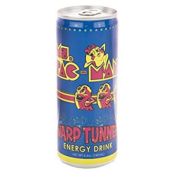 Ms. Pac-Man Warp Tunnel Energy Drink