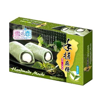 Yuki & Love Mochi with Green Tea & Creamy Filling 150g