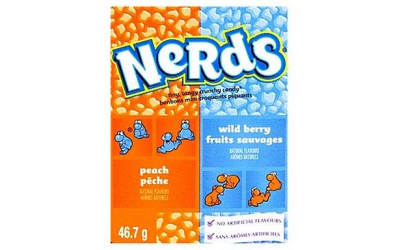 Nerds - Peach & Wild Berry 46.7g