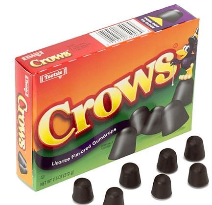 Tootsie Crows Licorice Drops 184g