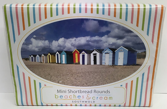 Beaches & Cream Southwold - Mini Shortbread Rounds Gift Box 150g
