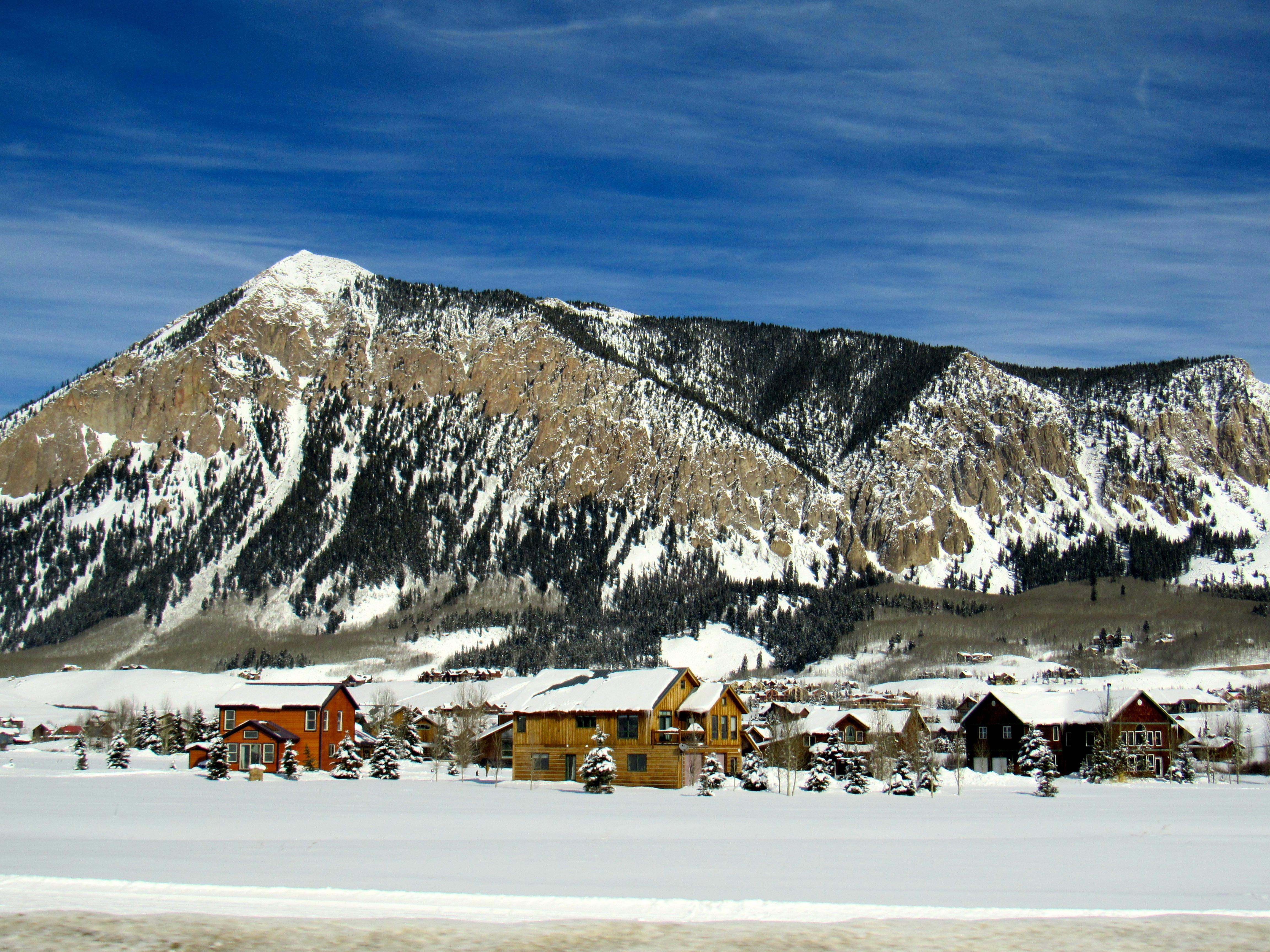 Crested Butte Colorado winter