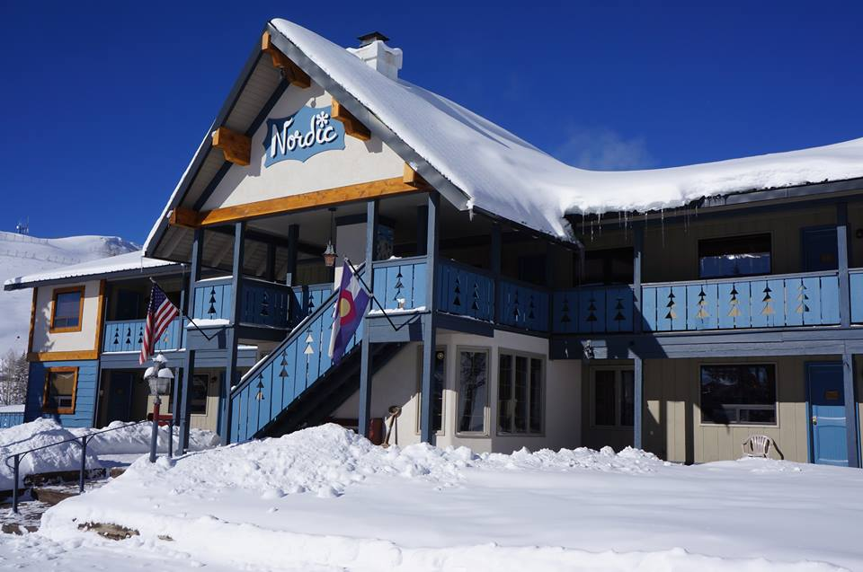 Nordic Inn Crested Butte winter