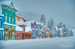 Crested Butte Colorado Elk Avenue