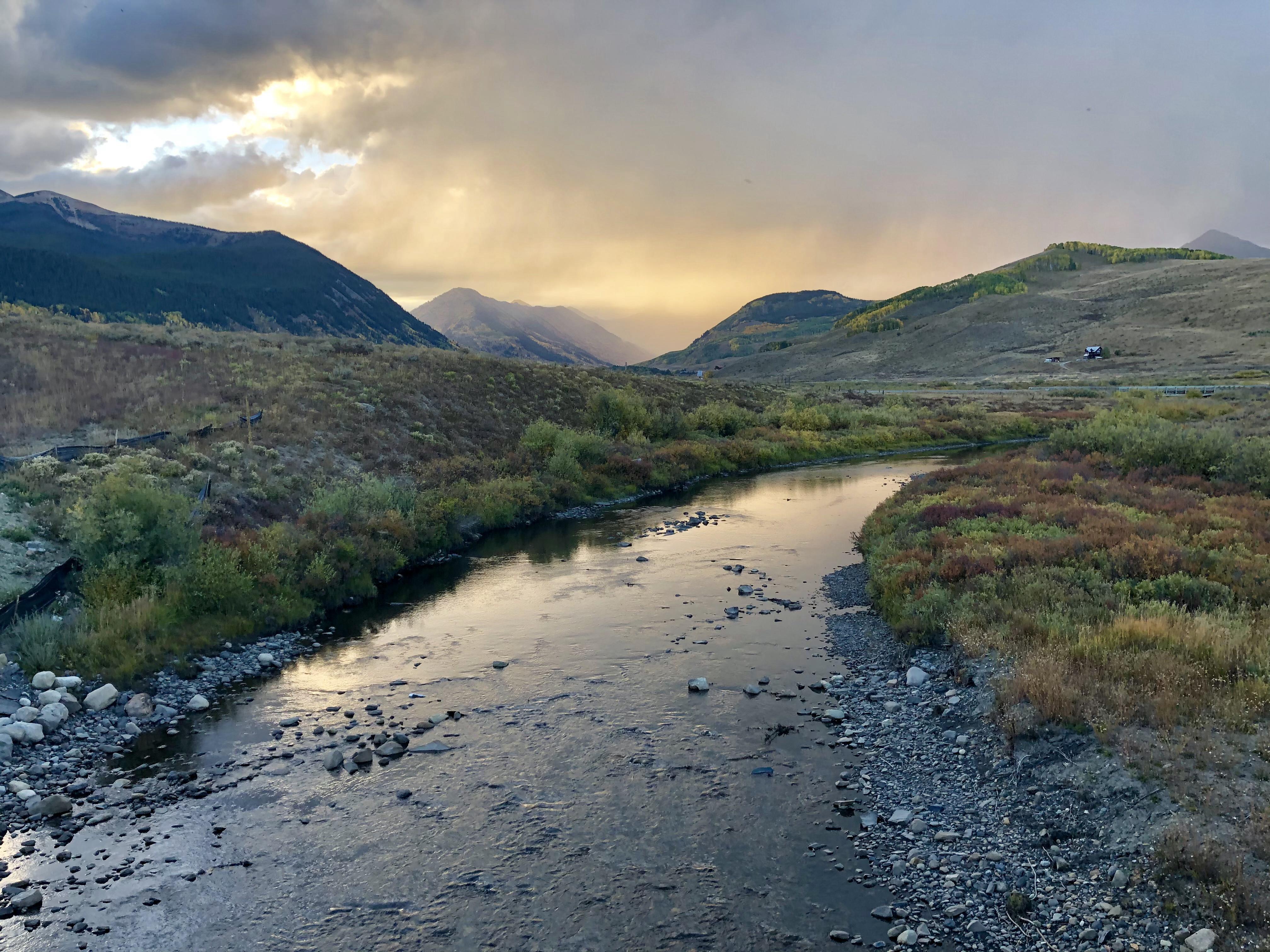 Crested Butte Colorado stream
