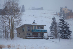 Nordic Inn Crested Butte snow