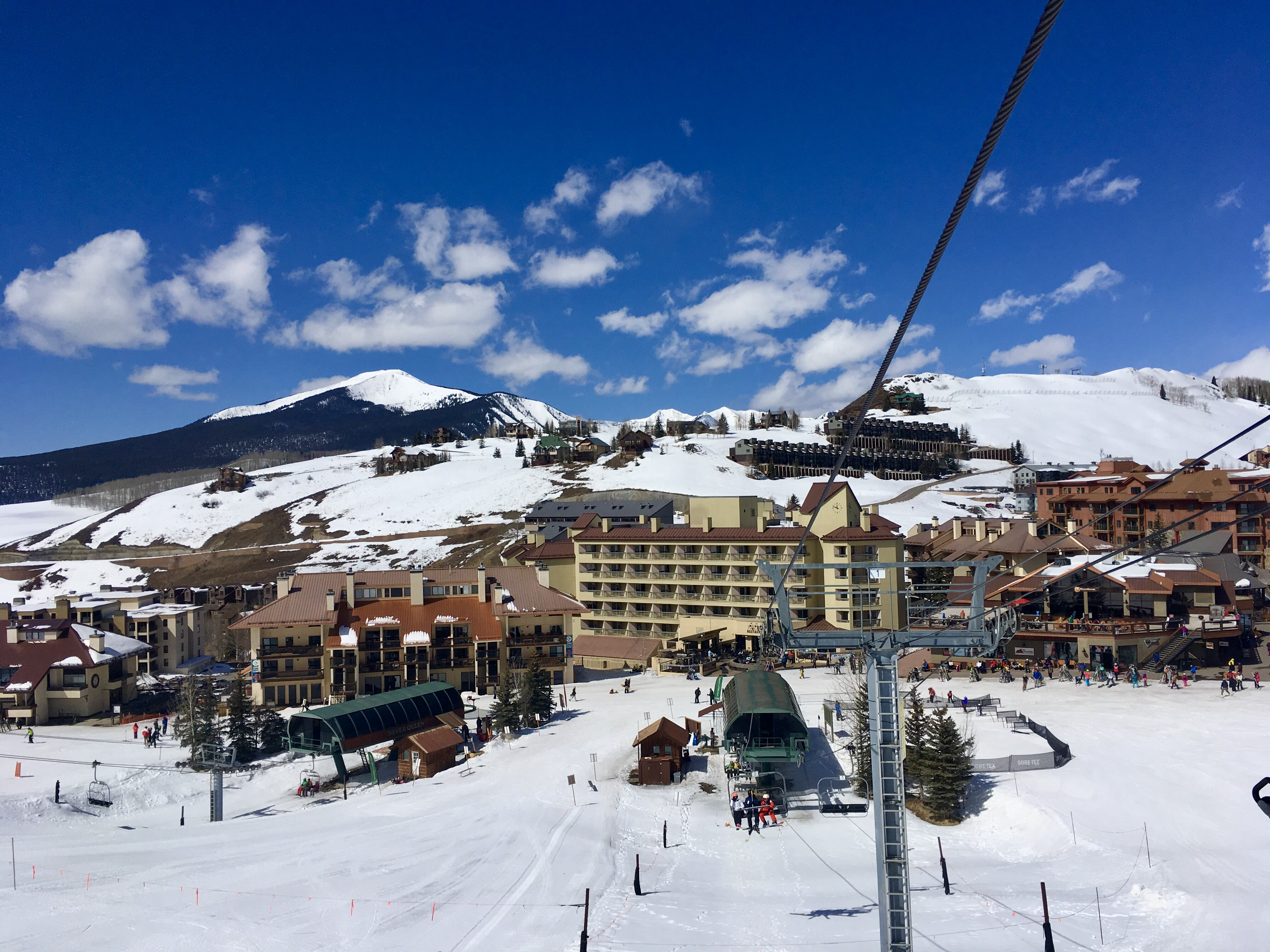 Crested Butte Mountain Resort ski lift