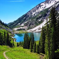 Crested Butte Colorado Emerald Lake