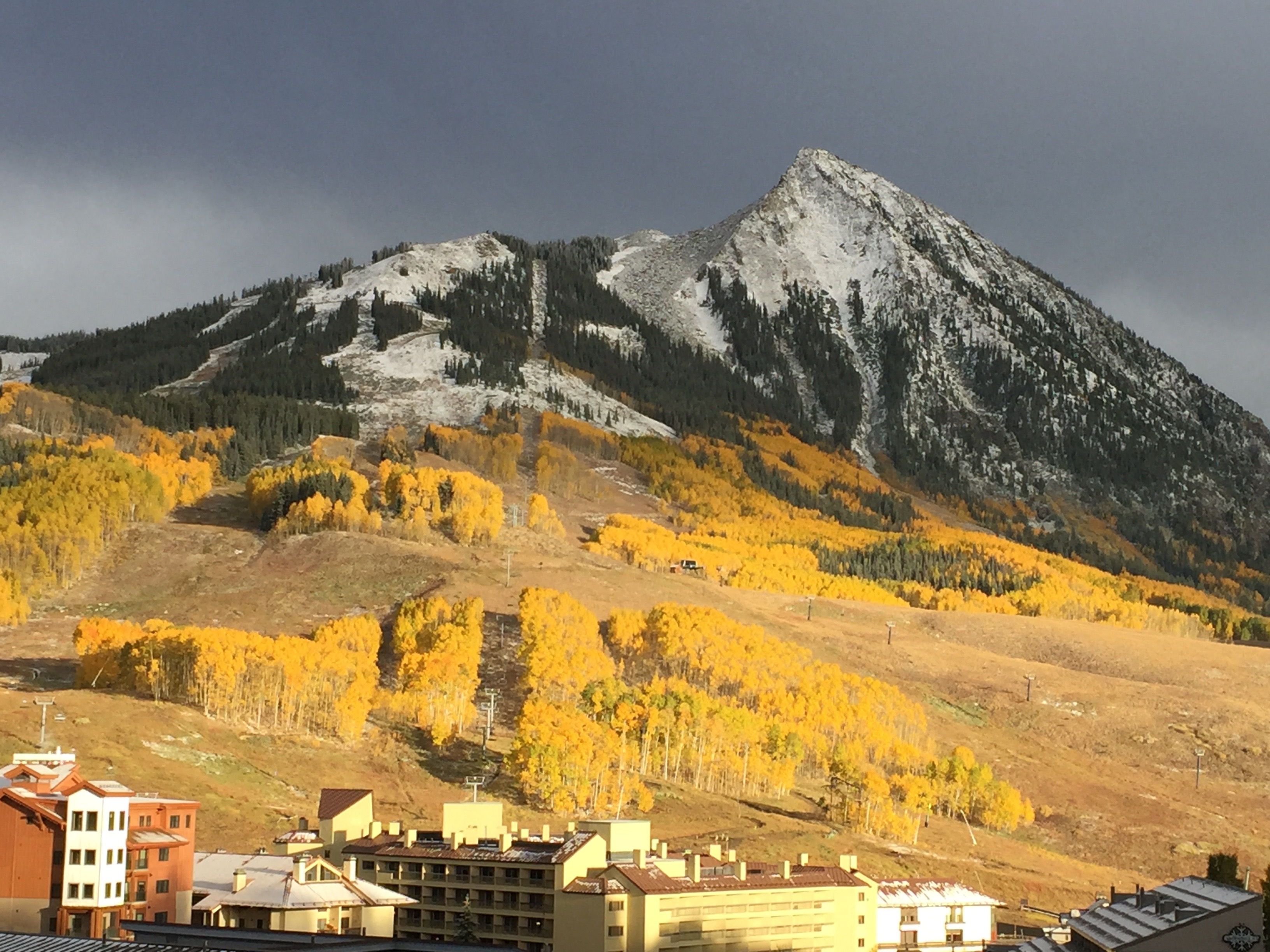 Mount Crested Butte Colorado fall
