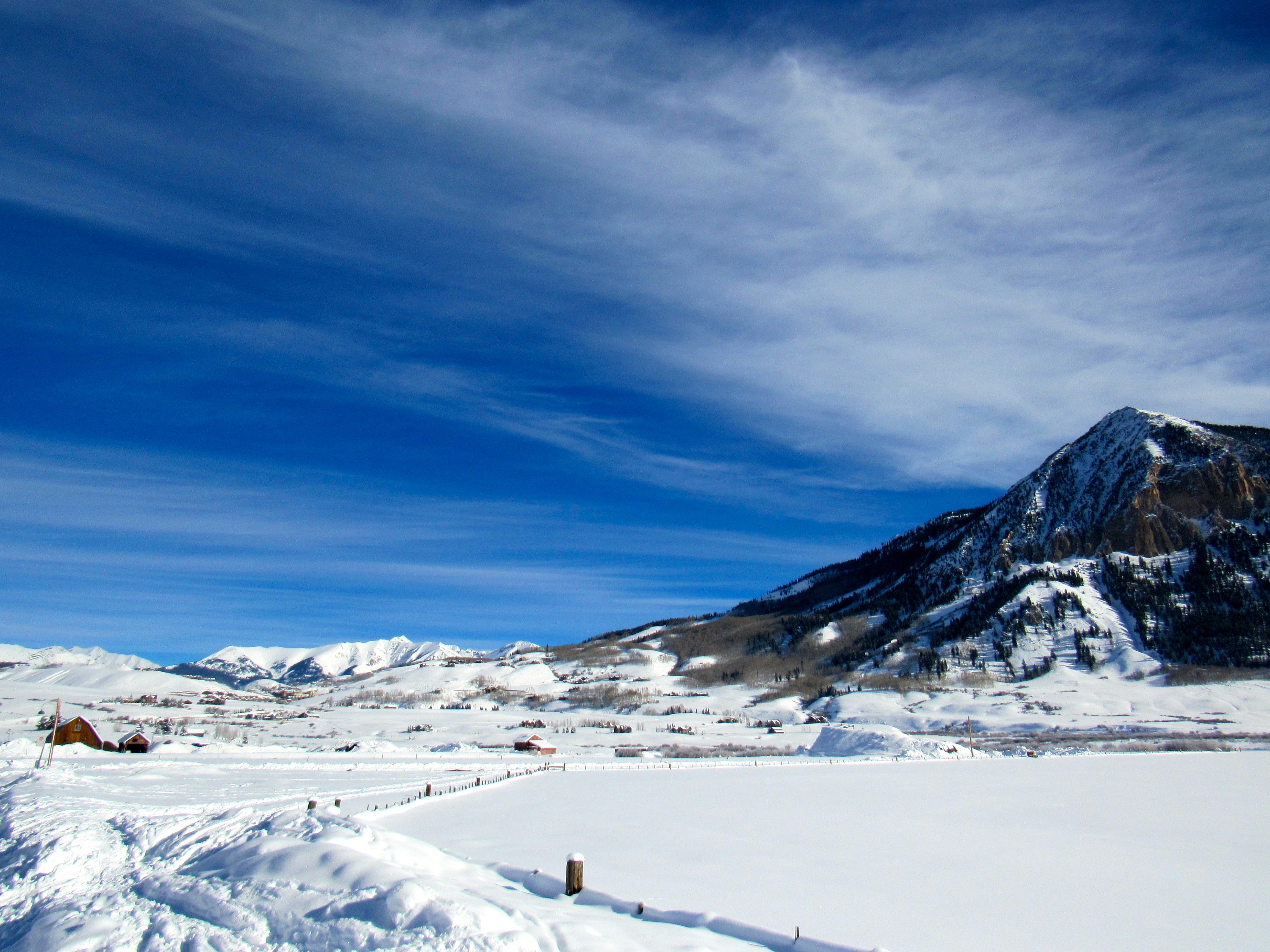 Crested Butte Colorado scenic view