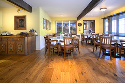 Nordic Inn Crested Butte Breakfast Nook Dining