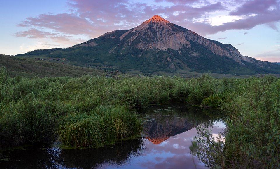 Crested Butte Colorado mountain