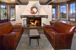 Nordic Inn Crested Butte Lobby sitting area