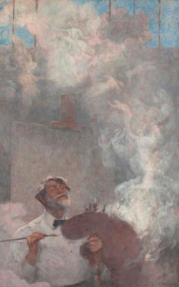 Ilusões perdidas, de Eliseu Visconti, 1933.