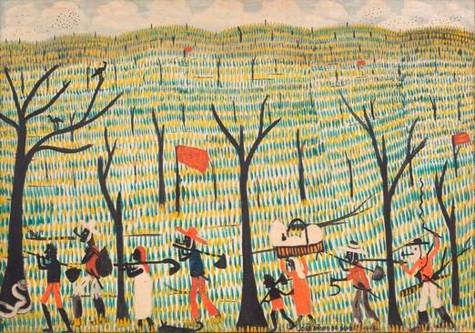 Sem titulo, de José Antonio da Silva, 1956.