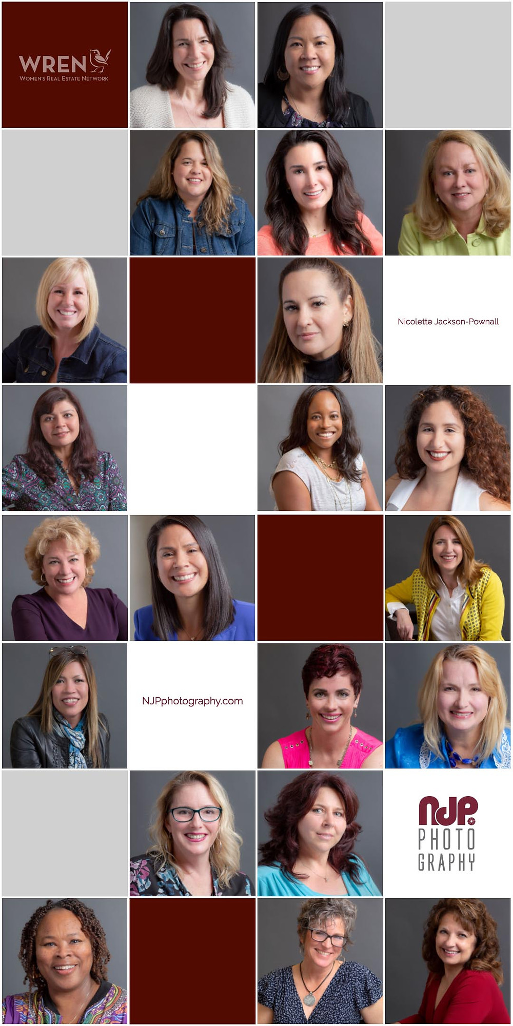 Women Real Estate Network event headshots