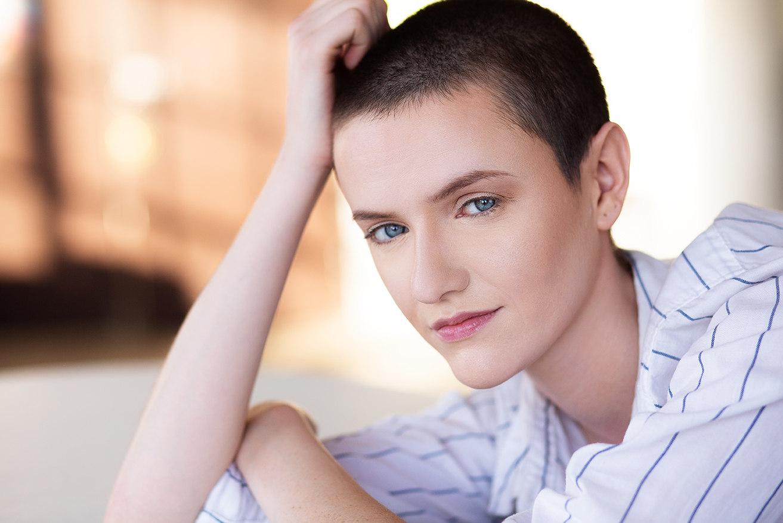 Magazine style portraits for models