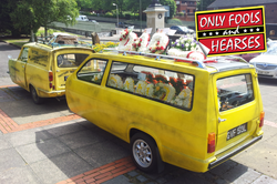 Trotters Funeral Car