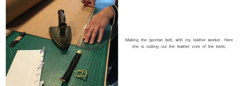 Making A Sporran