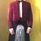 Thumbnail: Kilt Jacket Velvet - Grosgrain