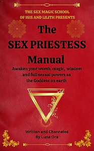 the sex priestess manual luna ora