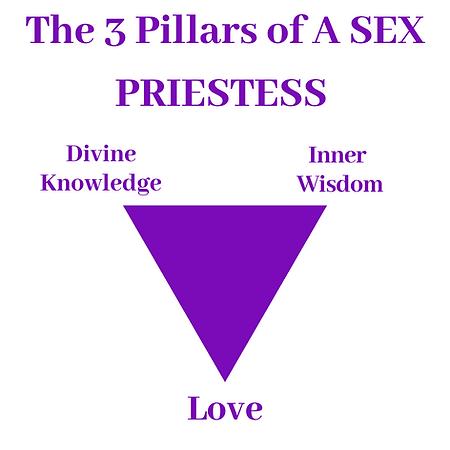the 3 pillars of a sex priestess. Lilac
