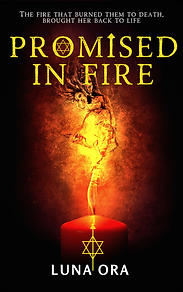 promised in fire- luna ora- front cover.