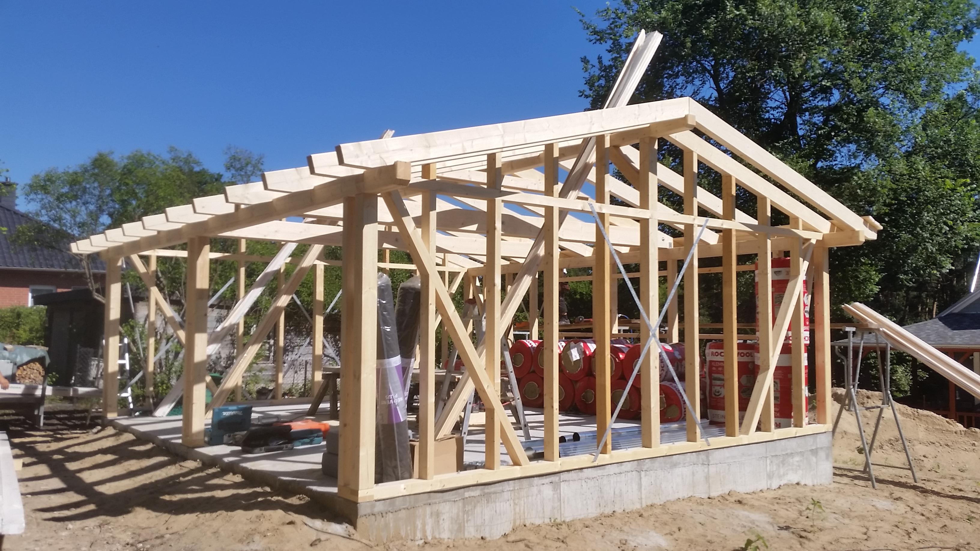 Garage in Holzständerbauweise_002